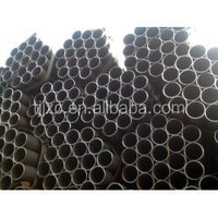 ASTM A 53 GR A/B BS 1387 ASTM A795 GR A/B ERW ROUND STEEL PIPE with oiled 36