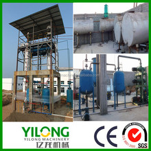 Totally Safe used hydraulic oil refining distiller heating by Thermal oil furnace