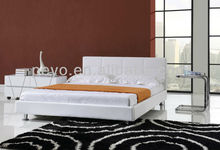 cheap price slat base platform bed king size queen size wholesale furniture in China SA104