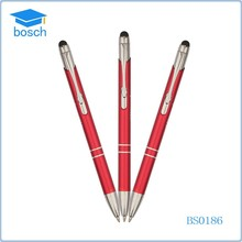 custom logo magnetic ballpoint pen & touch pen
