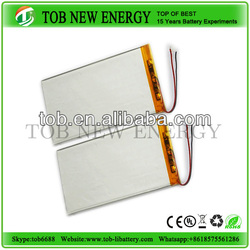 dry cell rechargeable battery li-ion polymer battery for navigation lights