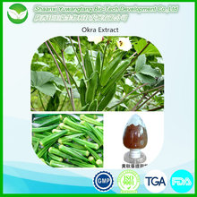 Factory supply natural sex enhancement okra seed extract