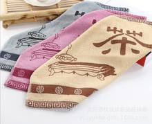 printed organic cotton tea towel from stocklot