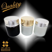 Top quality multiple colors face lotion contained refillable cream jar