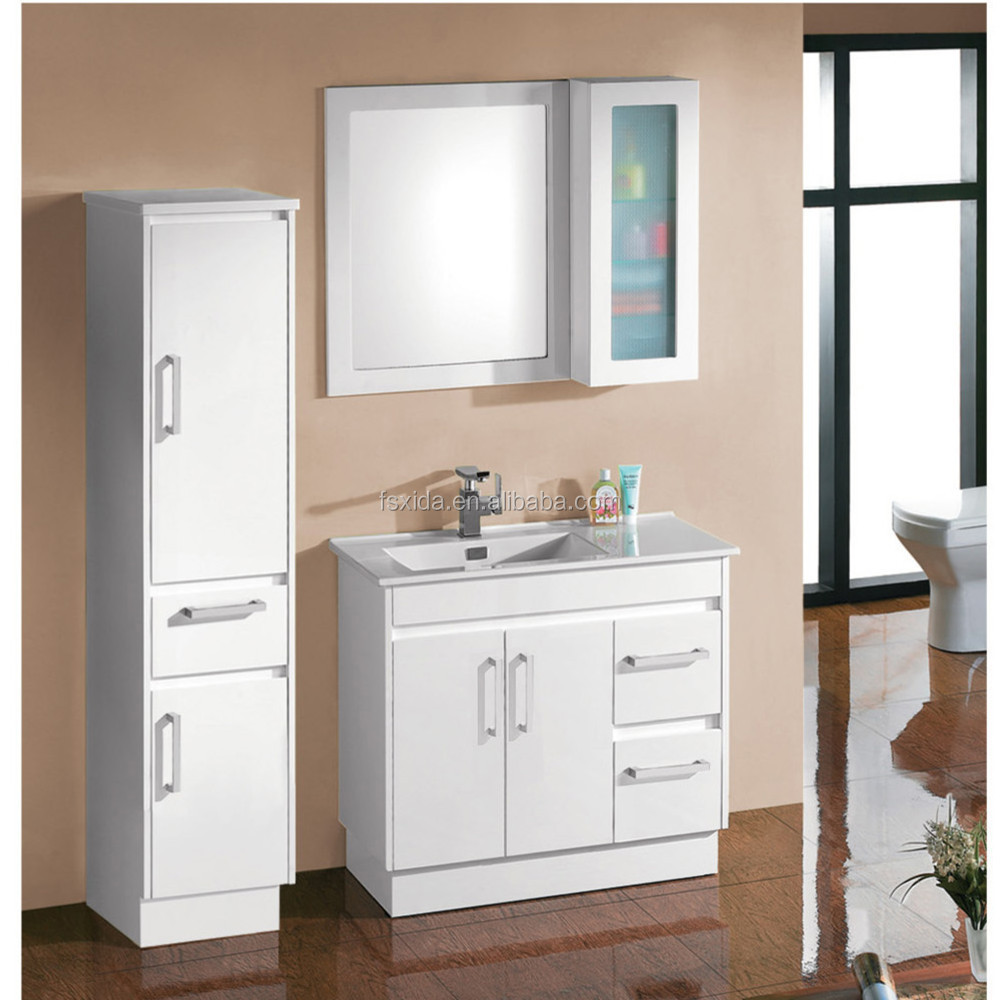 Australia popular bathroom cabinet vanity wash basin buy for Bathroom wash basin with cabinet