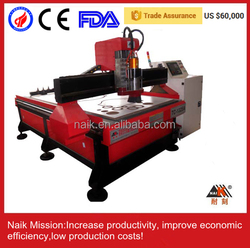 """Auto tool change Good price 4""""x8"""" computer controlled wood carving machine 1325"""