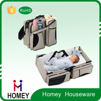 New Arrival Top Quality Custom-Made 600D Baby Travel Cot Bag