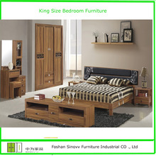 Classic Indian Style Bedroom Furniture with KIng Size Bedroom Furniture