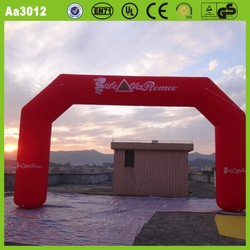 Logo printed popular advertising PVC tarpaulin or oxford cloth CE customized cheap inflatable entrance