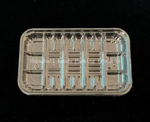 Plastic Food (fruit, vegetable,sushi, dessert, meat) Packing Tray, plastic vegetables packaging