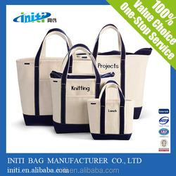 Hot Sale Colored Cotton Bag logo custom shopping bags