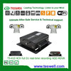 4ch 3g/4g wifi gps mobile dvr vehicle dvr police car solution free cms software