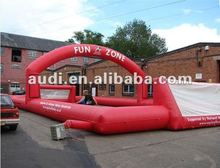 Inflatable England Hockey Pitch