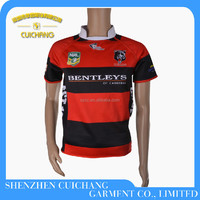 custom sublimated made rugby league jerseys