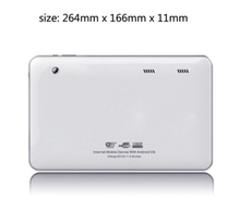 10.1'' A33 Qual core 1024*600 tablet android system with wifi 802.11b/g/n