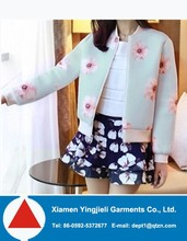 Clothing Factory In China Wholesale Cheap Floral Print Jacket