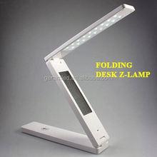 Portable Luminaire LED Table Lamp, Folding Desk Lamp, Battery Powered Desk Lamp