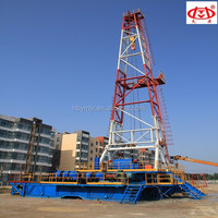 ZJ50/3150,1500HP Skid Mounted Oil Drilling Rig,Deep Well Drilling Machine