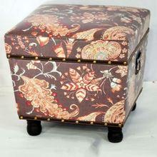 Customized Oem Handmade Rustic Sheesham Oak Rosewood Wood Carving Stool