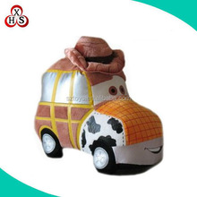 toy car plush car toys display, mini cooper stuffed plush car toy