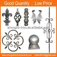Ornamental Wrought Iron Railing Parts
