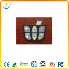 silicone rubber button keyboard tactile membrane switch