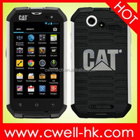 CAT B15Q 4 Inch Touch Screen Aluminium Body IP67 Waterproof Rugged Smartphone