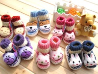 anti-slip custom made baby socks like shoe