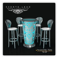 Stainless Steel Wedding and Events Bar Tables