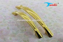 In lega di zinco e alluminio dorato armadio da cucina maniglie e manopole/hardware mobili