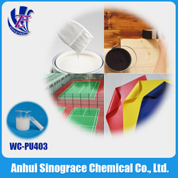 clear polyurethane resin for building WC-PU4036R