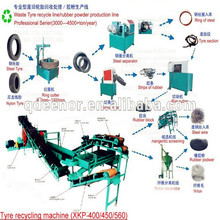 Old Tyre Recycling to Crumb Rubber Waste Tyre Solutions