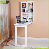 Amazon hot style drop leaf and wall mounted wooden folding table