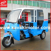 China exporting hot cheap popular style car/ taxi Bajaj passenger tricycle