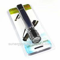 high quality green led flashlight