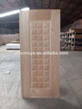 Interior decorativo moldeado puerta de chapa de la piel