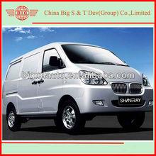2013 Euro IV four wheeler gasoline cargo van for African market