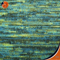 Rayon Polyester Coarse Knit Jersey Fabric For Fashion Wear