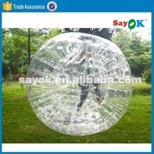 portable inflatable human knock zorb ball for rental 2015