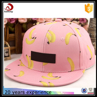Embroidery Patch Custom Banana Snap Back Hat Manufacturer