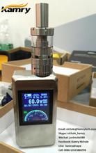 Hot selling 60w mod, newest design VW mod adjustable wattage 60w box mod in market vaporizers wholesale