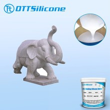 1:1 two component silicone rubber for gypsum statues molds