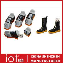 Custom Ball Shoes Shape PVC USB Flash Memory 8GB 16GB