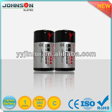 C r14 zinc carbon 1.5v dry cell battery sizes