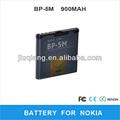 Batería del teléfono móvil para nokia bp-5m
