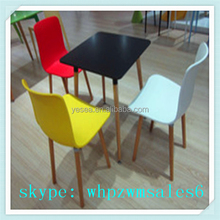 outdoor armless folding picnic table plastic chair from China Shanghai Yuanhai