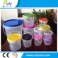 Plastic bucket/container wholesale with PP material for honey