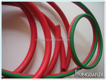 EPDM/SBR Gree and Red smooth covered Twin Welding rubber Hose and Assembly