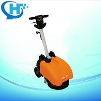 Electrical wire type compact manual floor sweeper
