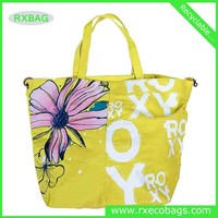 Flower canvas bags advertising bags mass production